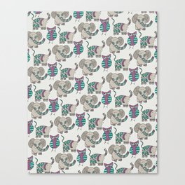 Whimsical Animals Canvas Print