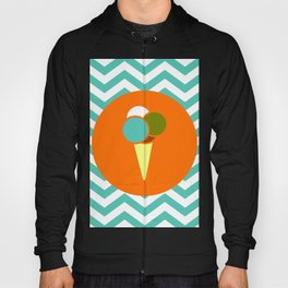 Ice Cream Cone - Cute Summer Accessories Collection Hoody