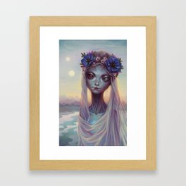 Dreams of Other Worlds Framed Art Print
