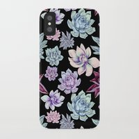 succulents iPhone & iPod Cases featuring Succulents by Miranda Montes