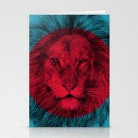eric fan Stationery Cards featuring Wild 5 by Eric Fan & Garima Dhawan by Garima Dhawan