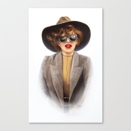 Lady G Canvas Print