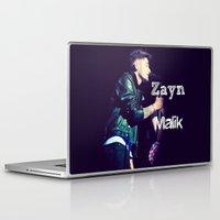 zayn malik Laptop & iPad Skins featuring Zayn Malik Singing by Marianna