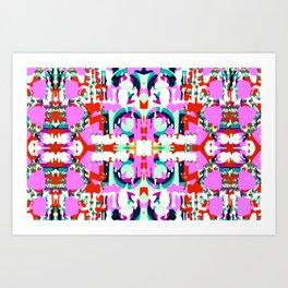 mozaika Art Print