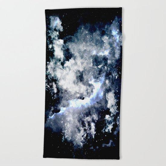 Frozen Galaxy Beach Towel