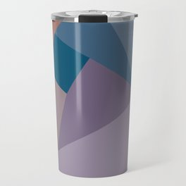 Geometric Vortex Travel Mug