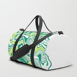 Green Slime Agate Slice Duffle Bag