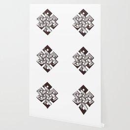 Buddhist knot of eternity Wallpaper