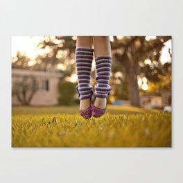 Ballet Jump Canvas Print