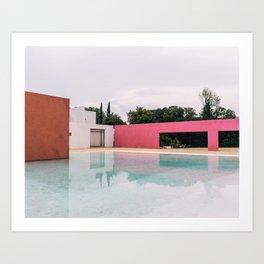Barragan Pink Art Print