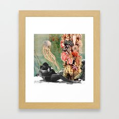 First Kiss Underwater Framed Art Print