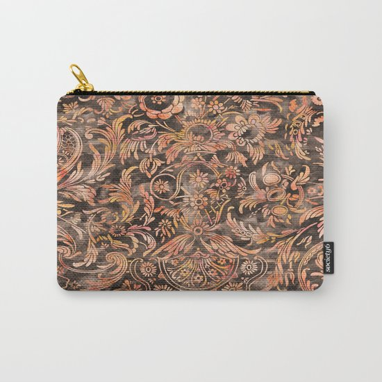 Damask Pattern 04 Carry-All Pouch
