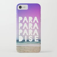 paradise iPhone & iPod Cases featuring PARADISE by Leah Flores