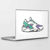sneakers Laptop & iPad Skins featuring SNEAKERS COLLECTION by Vincent Battault