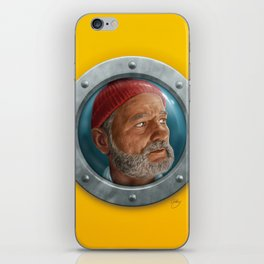 Steve Zissou iPhone Skin