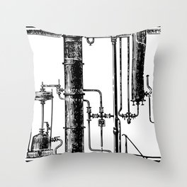Brockhaus-Efron Distillery 6 Throw Pillow