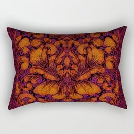 Gothic Flowers Rectangular Pillow