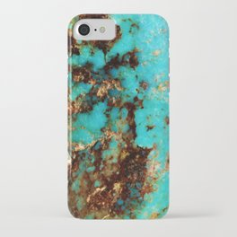 Turquoise I iPhone Case