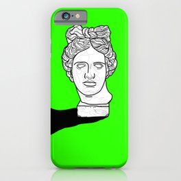 By Hand (Green Version) iPhone Case