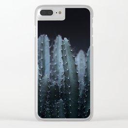 DARK PLANTS - CACTUS Clear iPhone Case