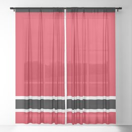 New Jersey Graphics Sheer Curtain