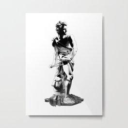 Bernini's David - Illustration Metal Print