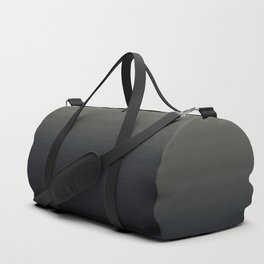 Ombre Grey Navy Black Abstract Design Duffle Bag