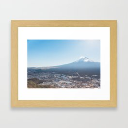 Fuji Framed Art Print