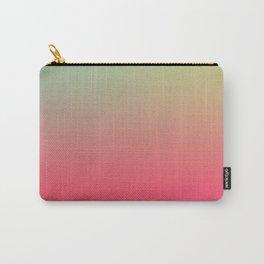 PARTY LIGHTS - Minimal Plain Soft Mood Color Blend Prints Carry-All Pouch