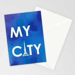 MyCity-Tokyo-BlueA Stationery Cards
