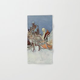 """The Happy Princess"" Fairy Art by Charles Robinson Hand & Bath Towel"
