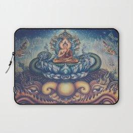 Buddah blue temple Laptop Sleeve