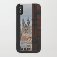 prague iPhone & iPod Cases featuring prague by Karen