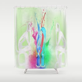 Think about u Shower Curtain