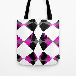 Gemstones Geometric Pink Tote Bag