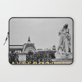 Eavesdropping at the Louvre Laptop Sleeve