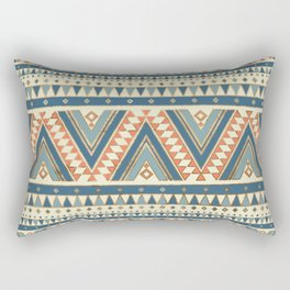 Aztec Ethnic Pattern Art N2 Rectangular Pillow
