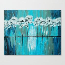 Blue Gray Arboretum Canvas Print