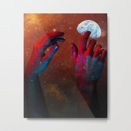 HANDS OF GOD Metal Print