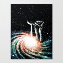 Cosmic Vomit Canvas Print