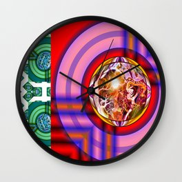 To think Outside he box - you first got to get ut of it* Wall Clock