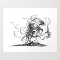 Woman #7 Art Print