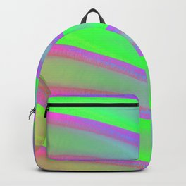 Colors swimming on grey Backpack