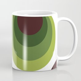 Back To The 70's In Green Coffee Mug