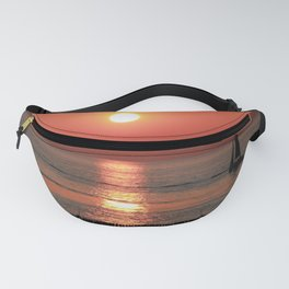 Sailing in Sunset Fanny Pack