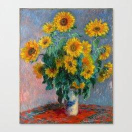 Bouquet of Sunflowers - Claude Monet Canvas Print