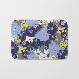 Ava Summer Blue Bath Mat