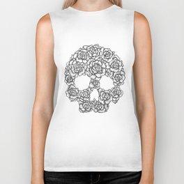 Skull of Roses Biker Tank