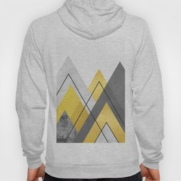 Landscape collage marble I Hoody