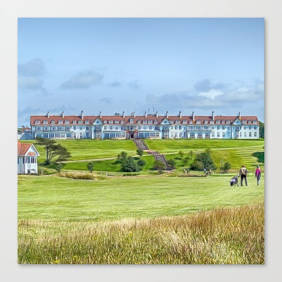 Across the Green Canvas Print